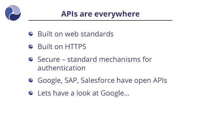 APIs are everywhere